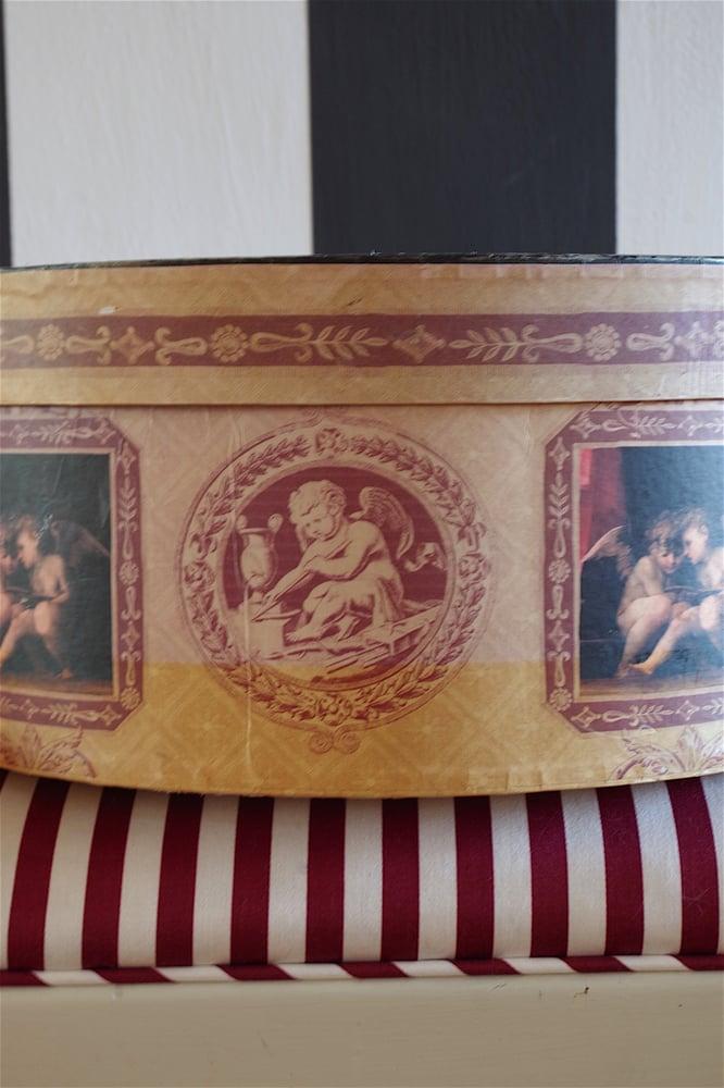 Image of Antique Hat Box