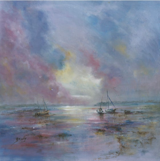 Image of 'Purple Harbour (Chichester)' Giclee Print