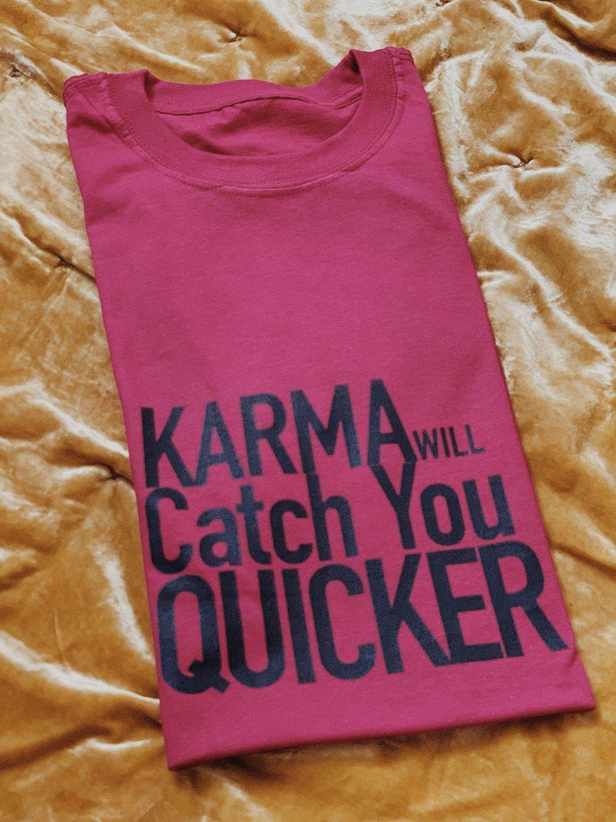 Image of Karma Tee in Pinot Noir