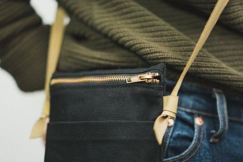 Image of Sacoche en canevas à faire sois-même