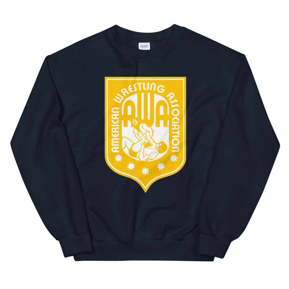 Image of AWA Crewneck (Navy. Black, Gray, up to XXXXL)