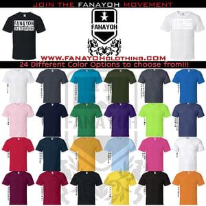"Image of Custom ""FANAYOH Skateboarding"" (White Print)"