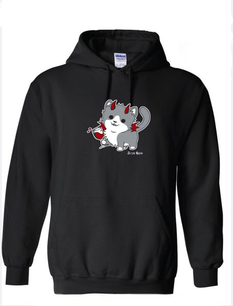 Image of Wine Kitty Hoodie