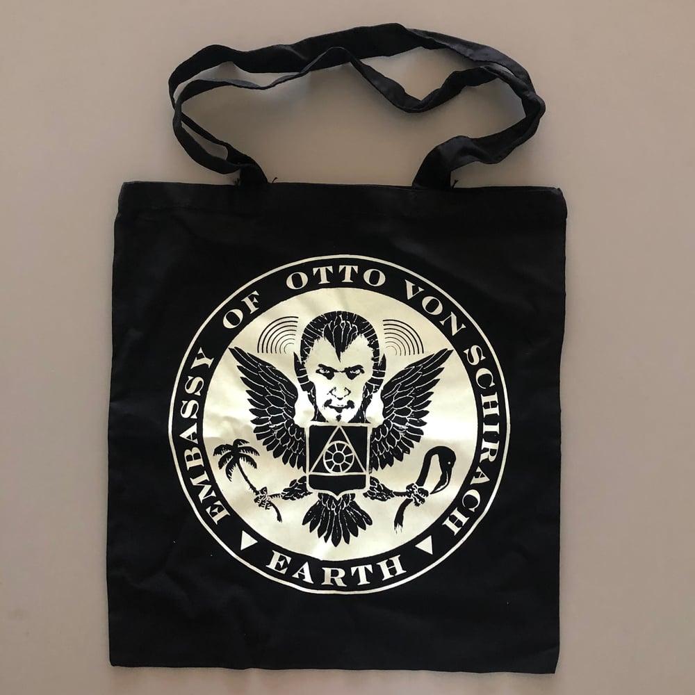 Image of Glow in the dark tote bag