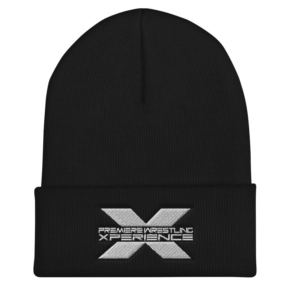 Image of Cuffed Beanie (Black and White Logo)