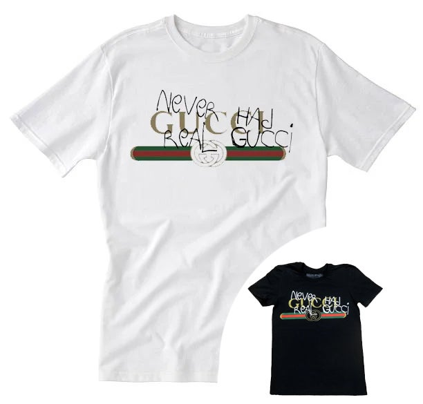 Image of Fake Gucci Tee (available in black)