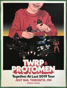 Image of TWRP + Protomen Tour Poster