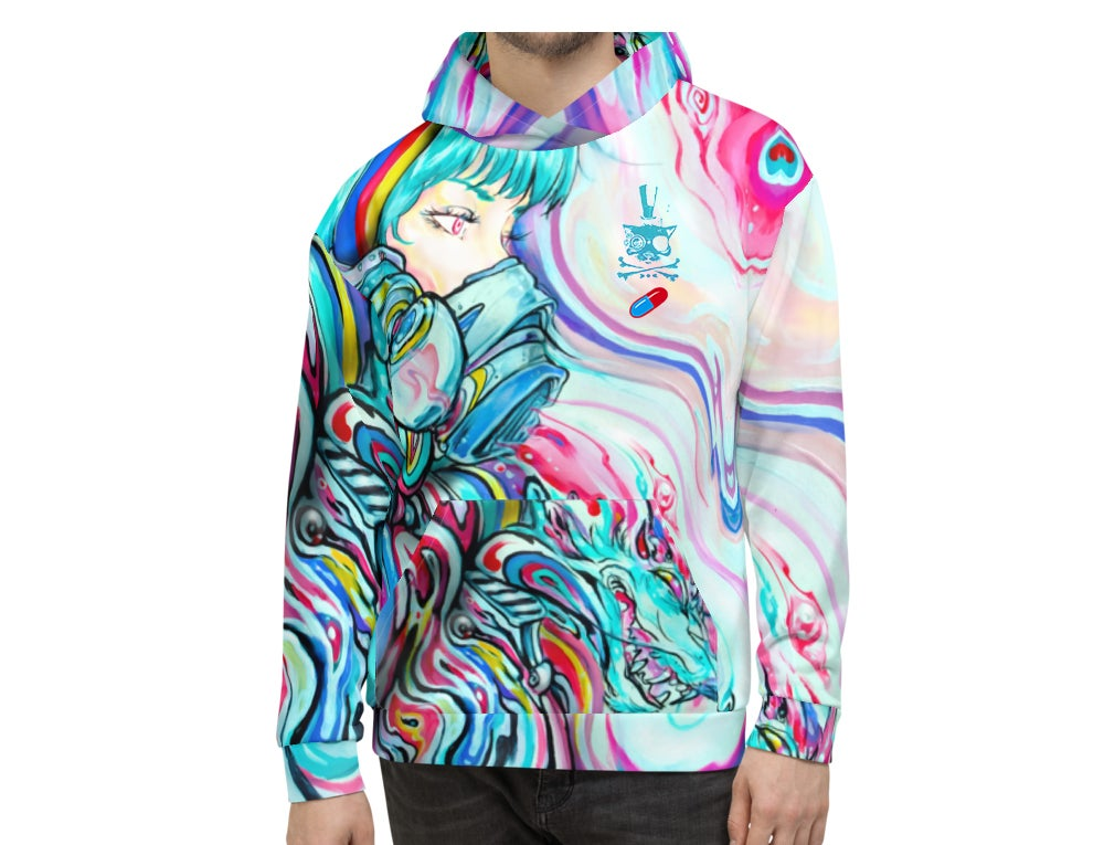 "Image of Unisex ""Dragon's Breath"" Hoodie"