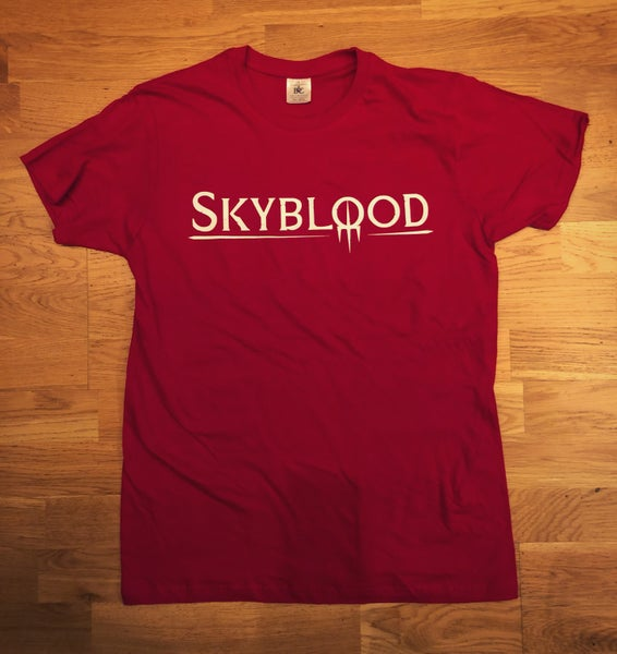 Image of Skyblood T-shirt Red (Incl. shipping!)