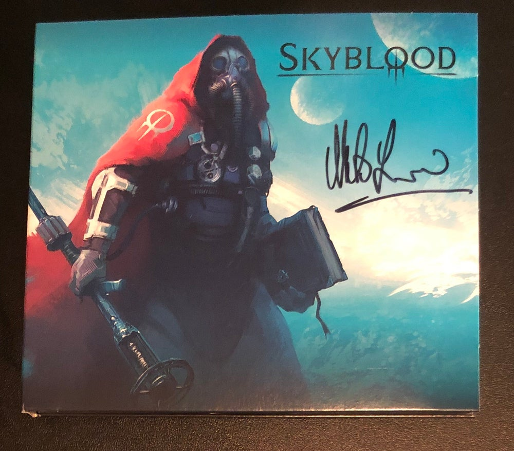 Image of Skyblood CD - Signed (Incl. shipping!)