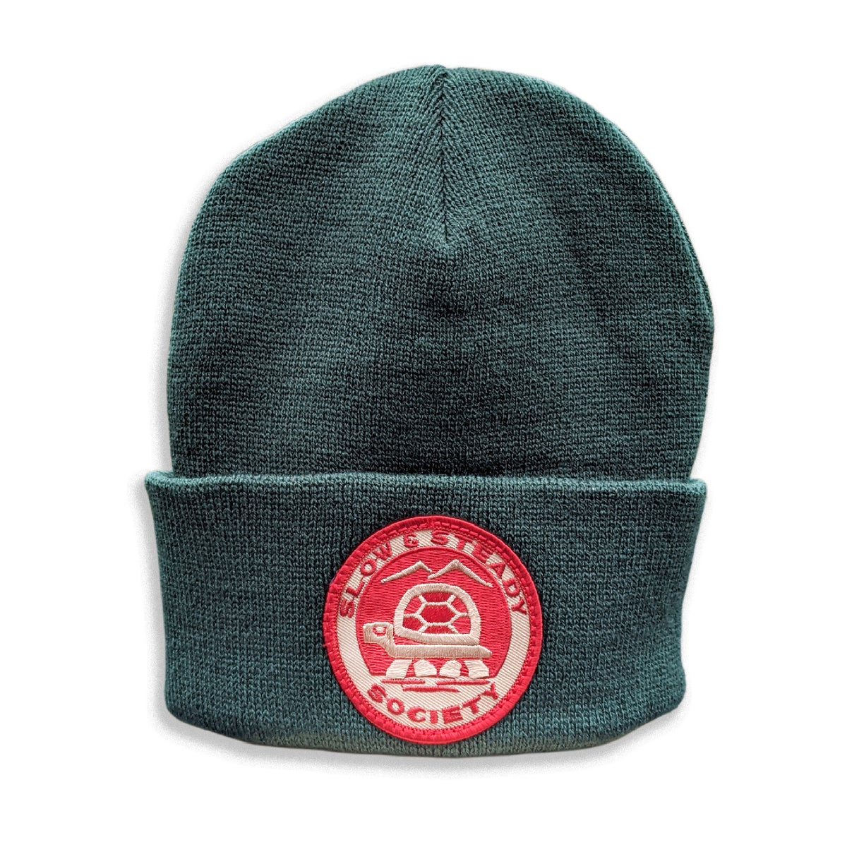 Parks Patch Forest Green Beanie