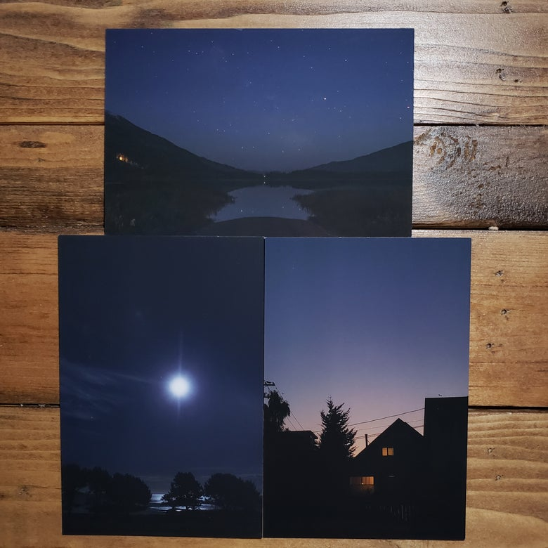 Image of Night Photography Art Cards
