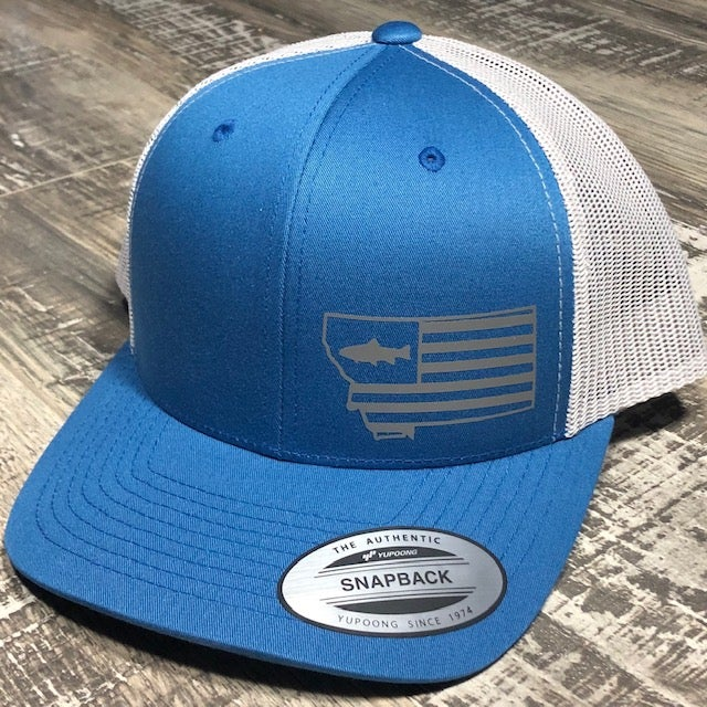 Image of Heritage - Trout - Steel Blue