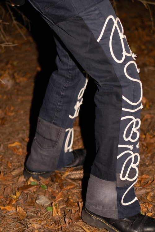 Image of Bootcut Bush-Pants