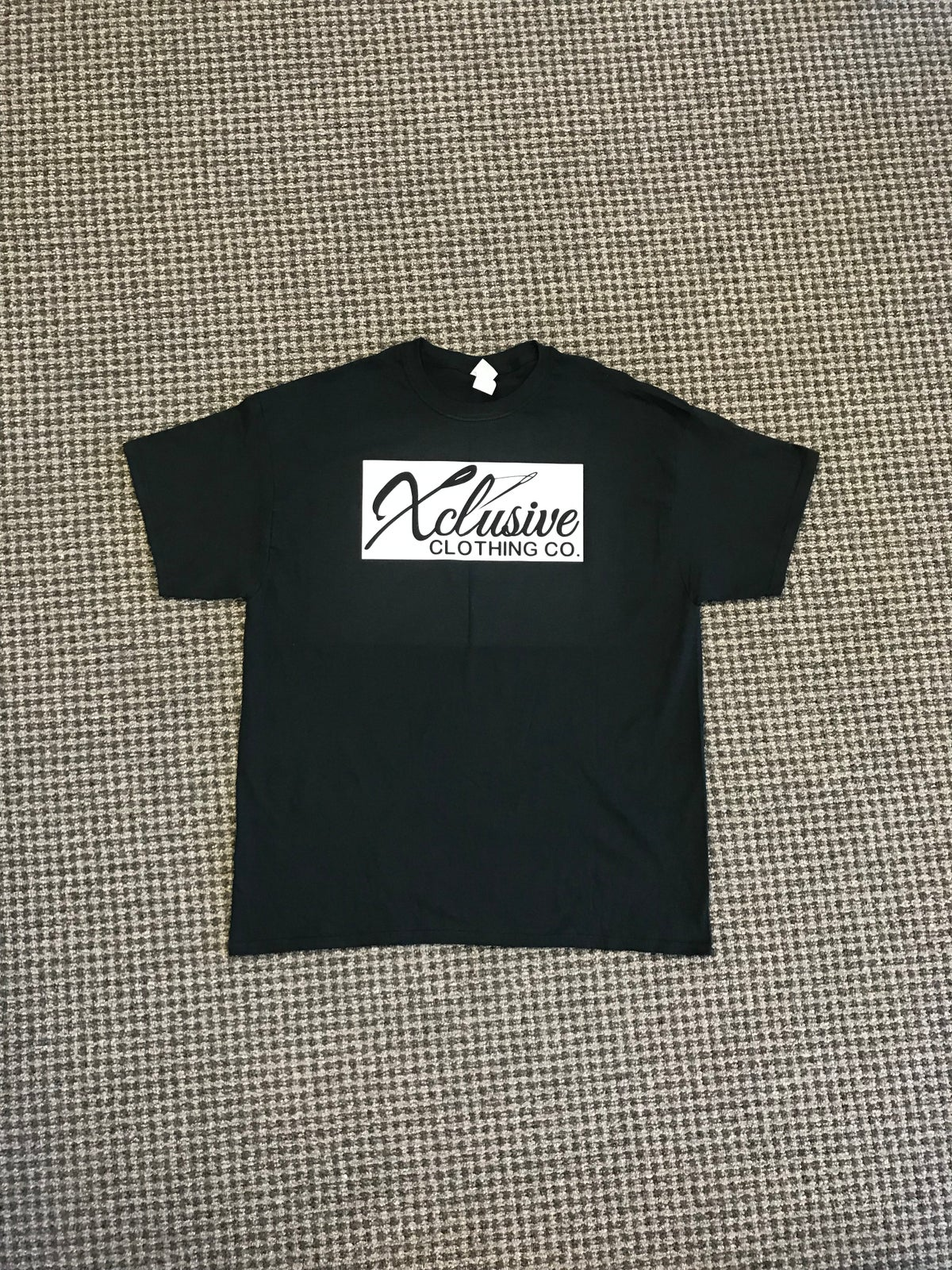 Image of Black and white Tee