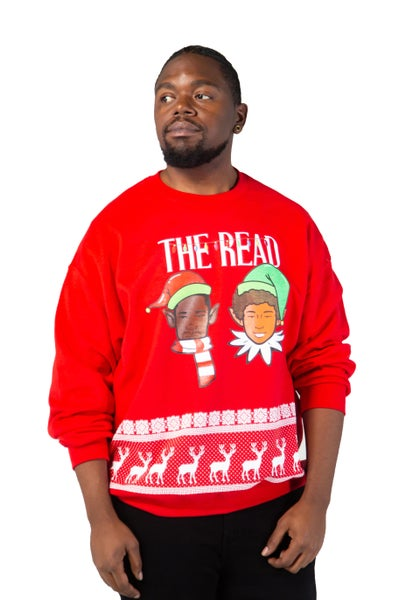 Image of The Read Red Holiday Crewneck