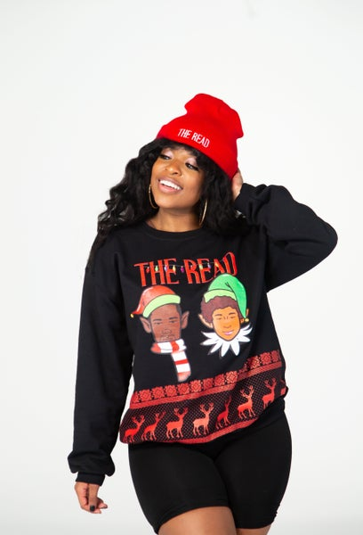 Image of The Read Black Holiday Crewneck