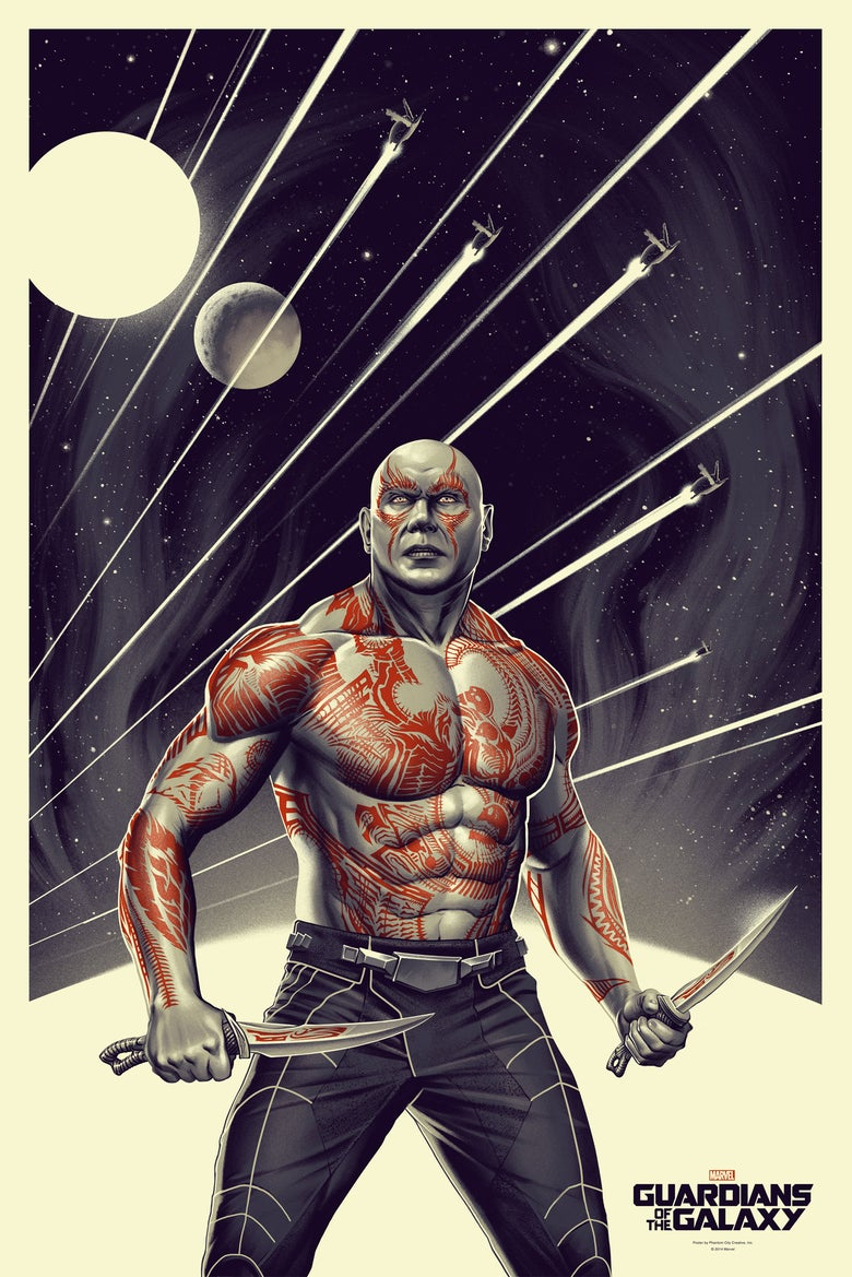 Image of GUARDIANS OF THE GALAXY (DRAX)