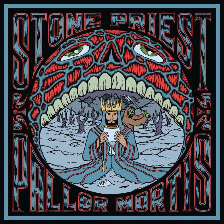Image of Stone Priest - Pallor Mortis - Transparent Blue Vinyl