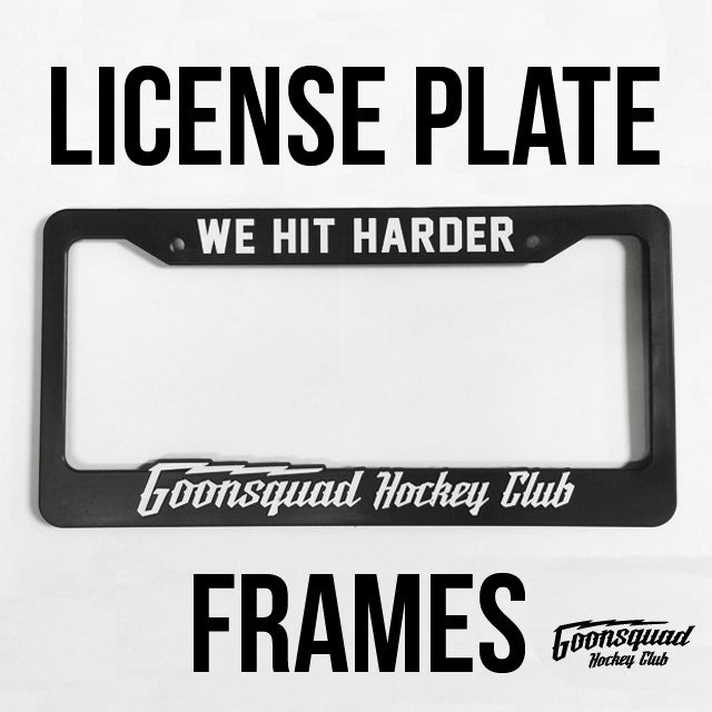 GS License Plate Frame