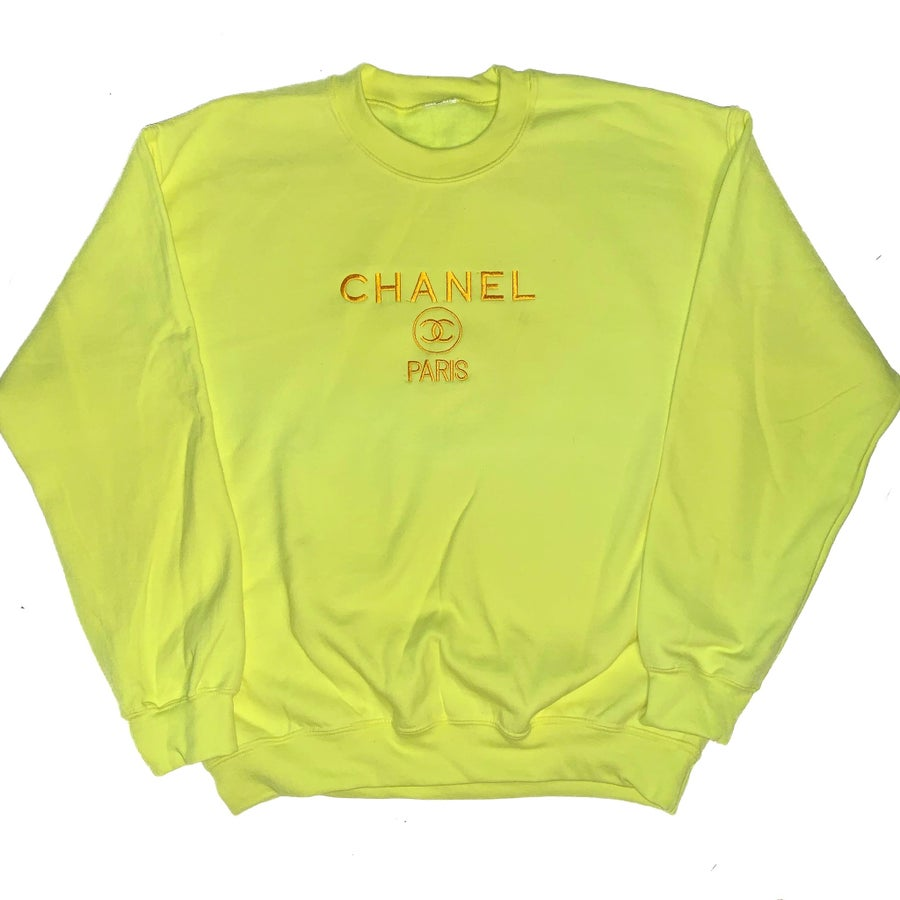 Image of CC Sweatshirt Neon