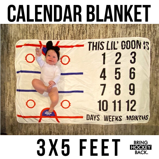 Baby Calendar Blanket