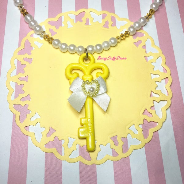 Image of Key of Love Necklace