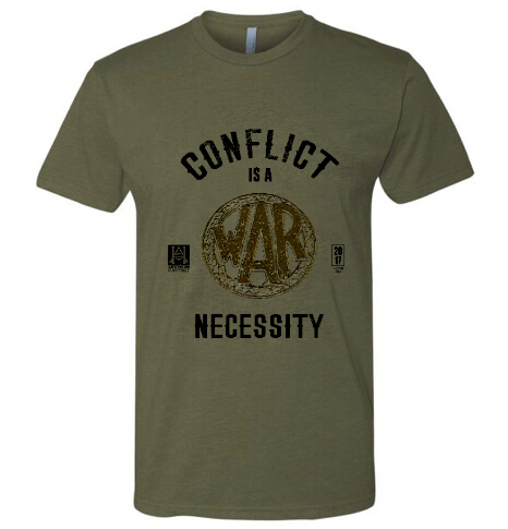 Image of HAC - Conflict is a Necessity/We Honor Tee