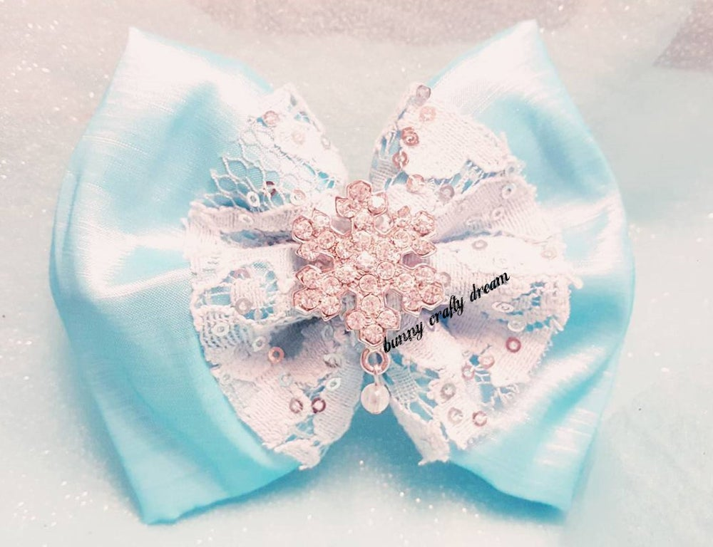 Image of Winter Wonderland Hairbow