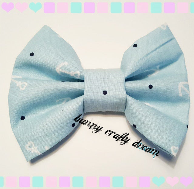 Image of Sea of Hearts Hairbow