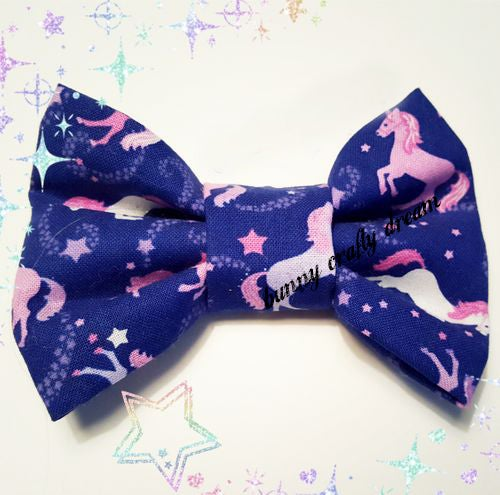 Image of Unicorns in the Sky Hairbow