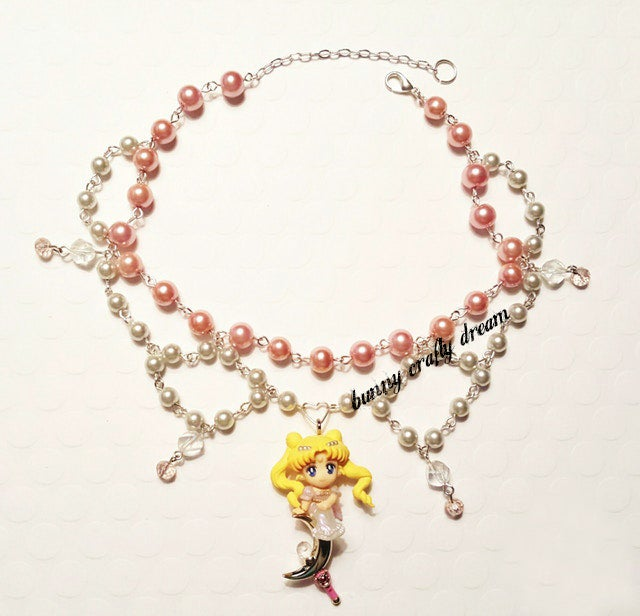 Image of Princess Serenity Romantic Necklace