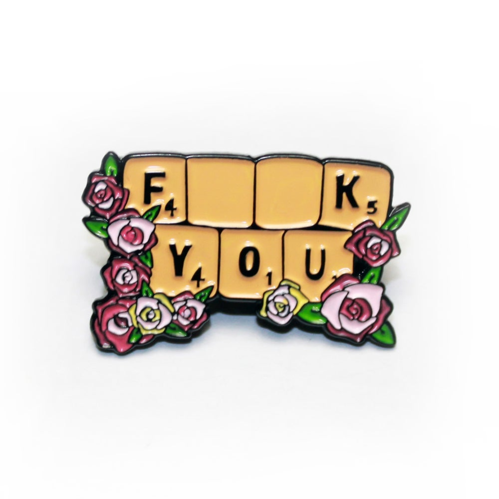 Image of f**k you pin