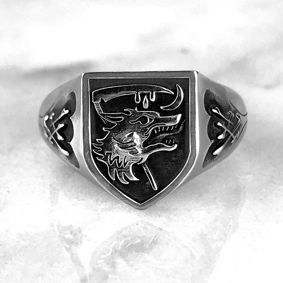 Image of Nachzehrer Patrol Signet Ring LG