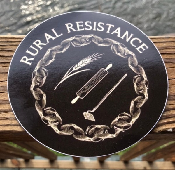 Image of Rural Resistance Sticker 5inch