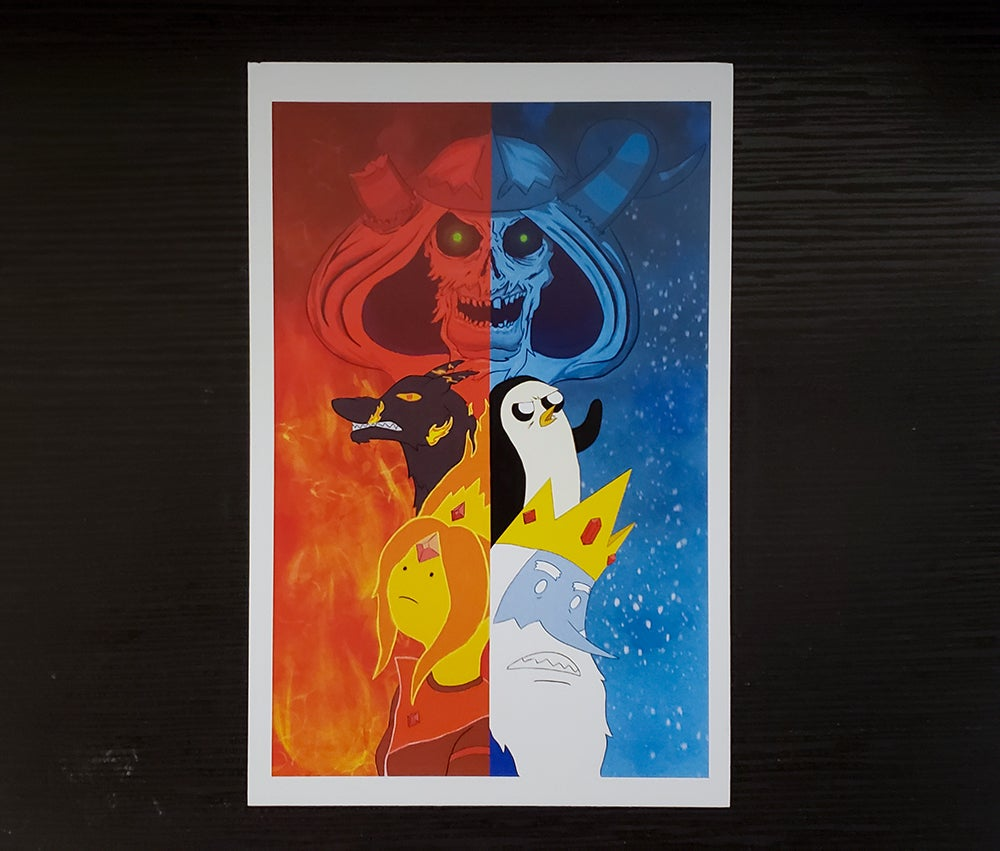Image of Adventure in Fire & Ice Print