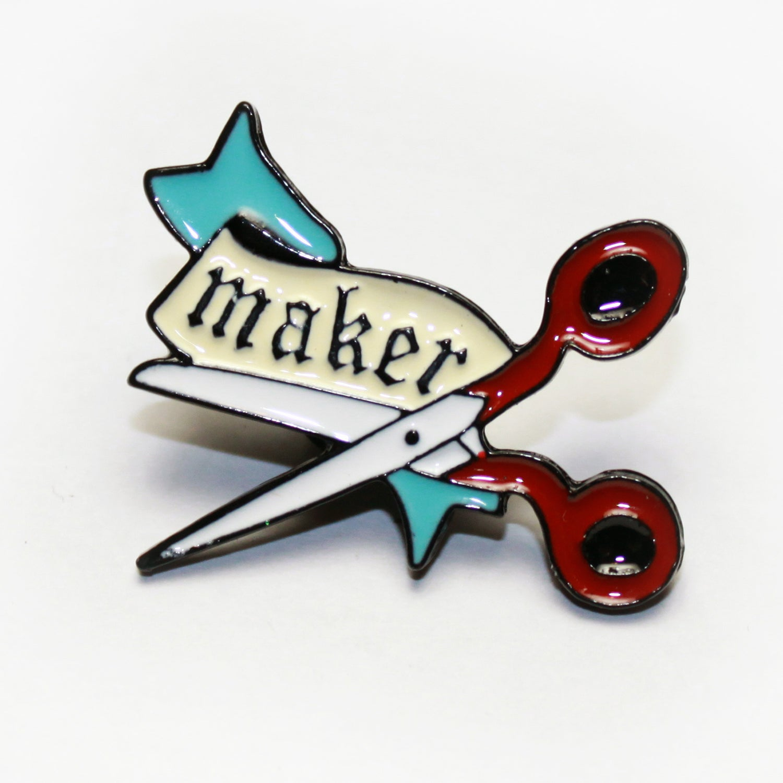 Image of maker pin