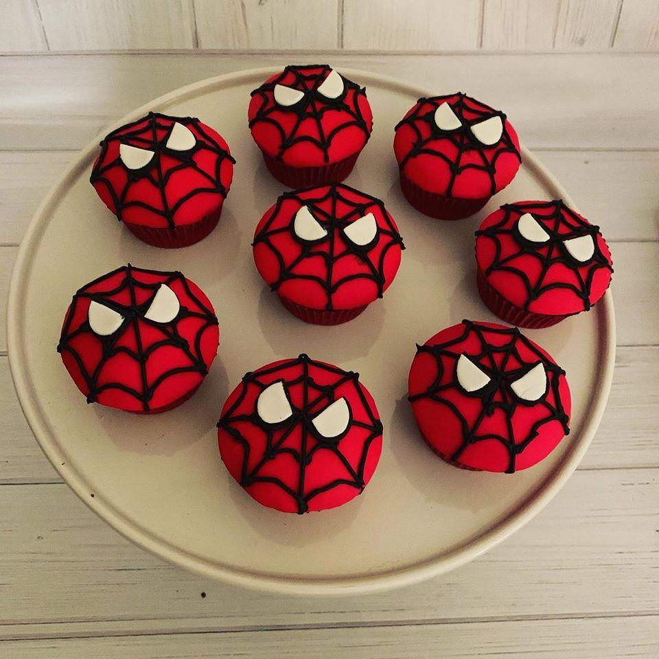 Image of Spiderman Cupcakes