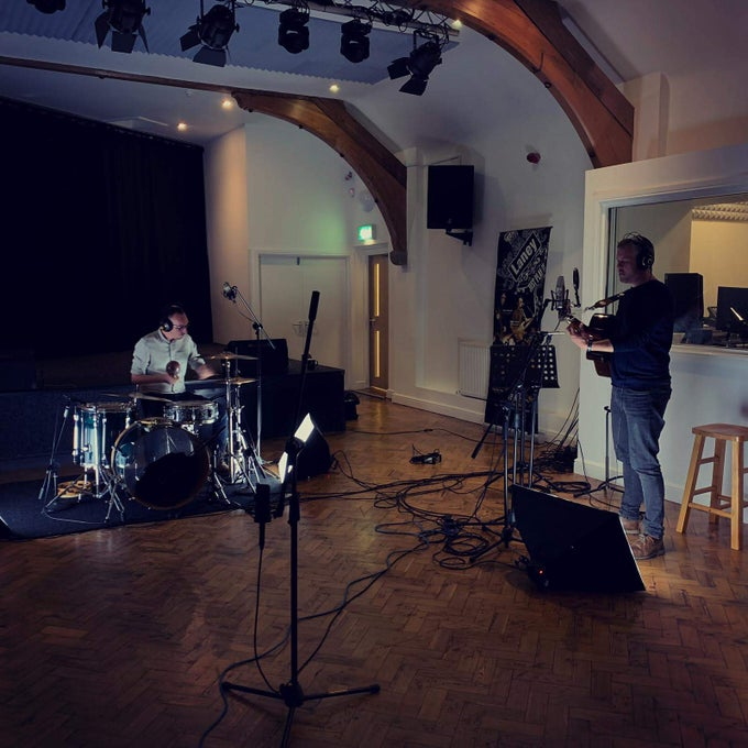 Image of Studio Video Recording Session