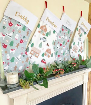 Image of In the Christmas Forest Stocking