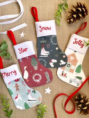 Image of Cosy Christmas Mini Stocking