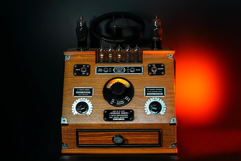Image of SPIRIT OF ST.LOUIS PH780 (1995) RADIO VINTAGE BLUETOOTH