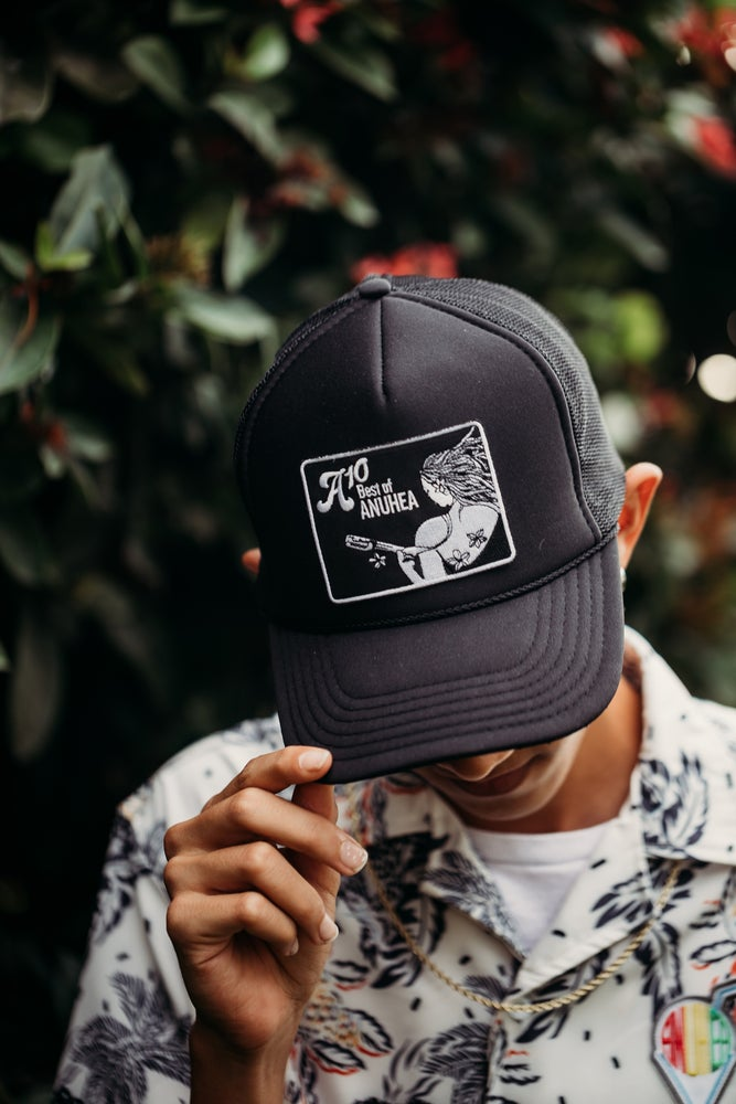 Image of A10 Black Patch Mesh Hat