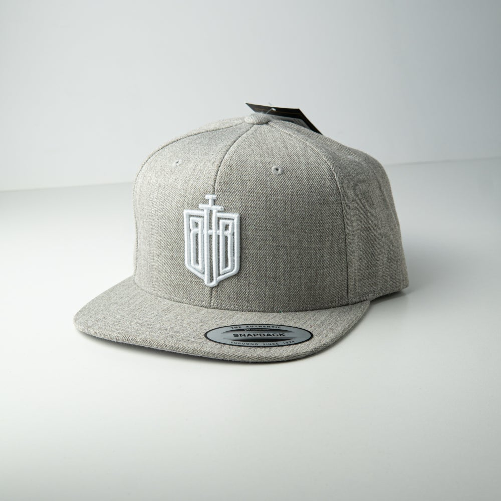 Image of BraveheartBattle Snapback Grey