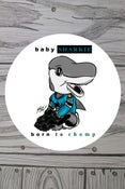Image of Baby Sharkie 3x3 sticker