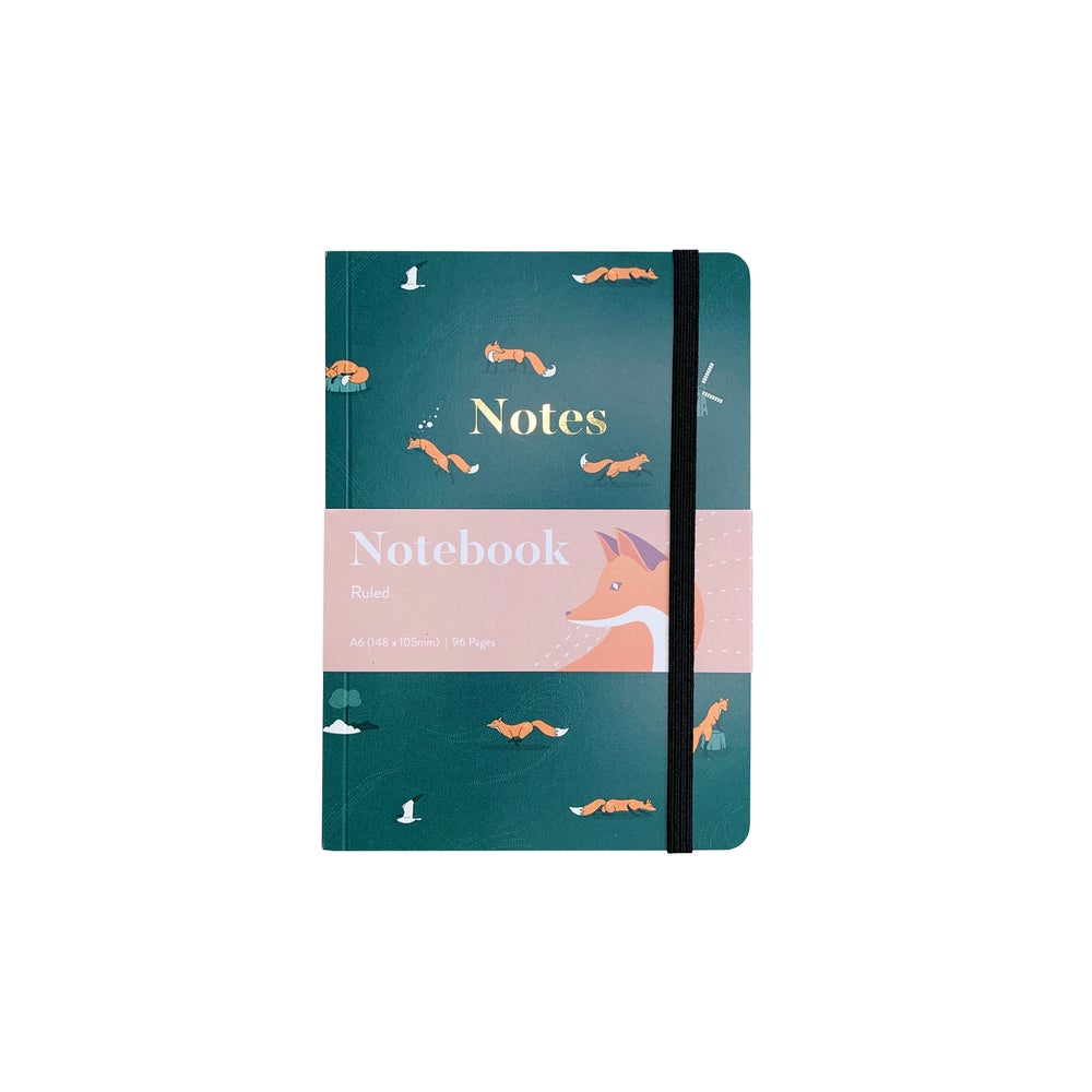 Image of Summer Rain A6 Notebook