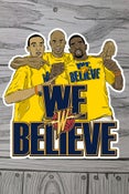 Image of Dubs We Believe 3x3 sticker