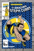 Image of Amazing Steph cover art print