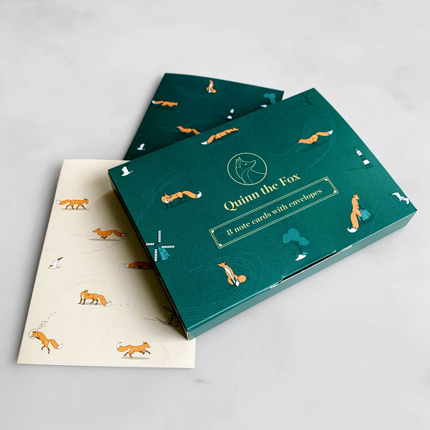 Image of Headwinds Note Card Set