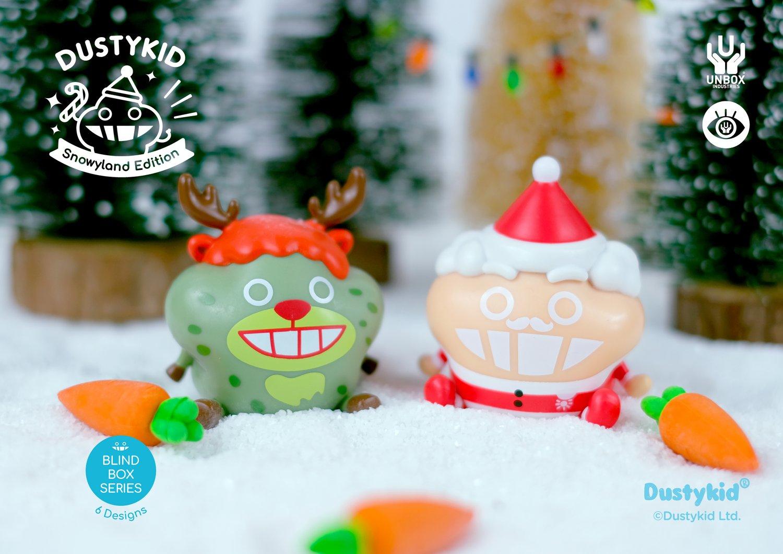 Image of DUSTYKID 'SNOWYLAND' BLIND BOX SERIES